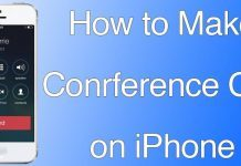 conference call iphone