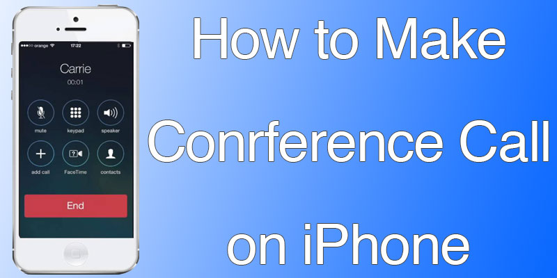 conference call not working in iphone 7