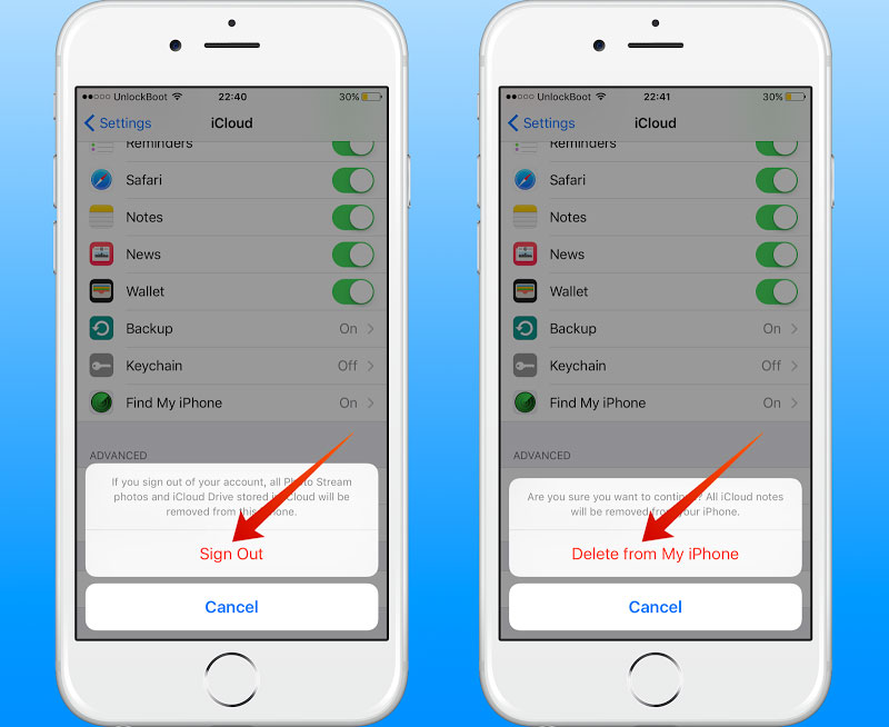 how to delete icloud account from iphone how to change or delete icloud account on iphone or 19977