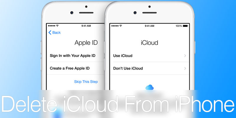 change icloud account on iphone how to change or delete icloud account on iphone or 3379