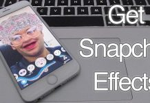 get snapchat effects