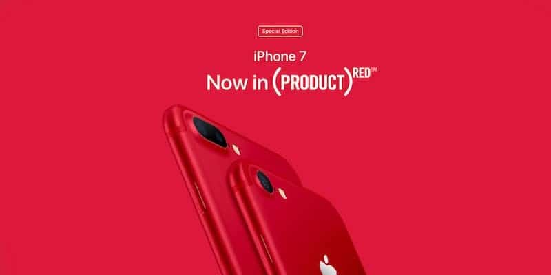 iphone 7 plus red unboxing