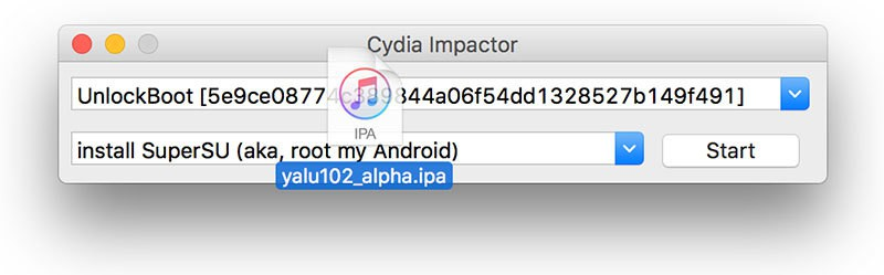 install apps with cydia impactor