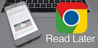 read later chrome