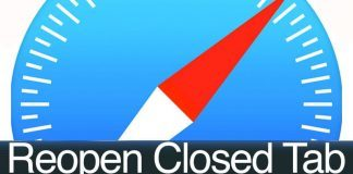 reopen closed tab