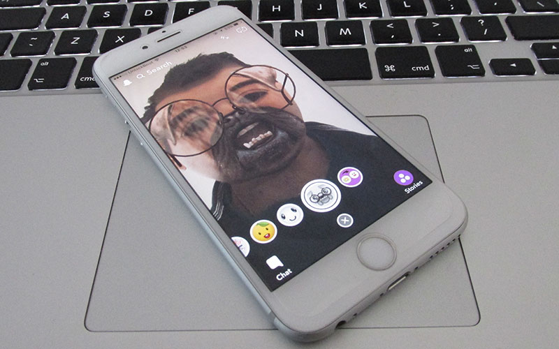 use snapchat filters on ios
