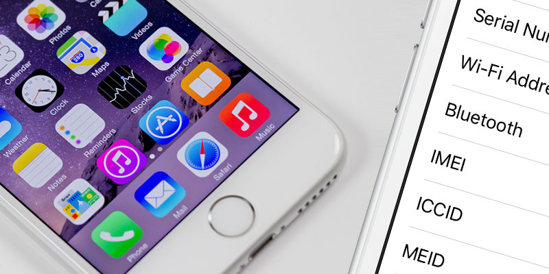 find iphone imei number