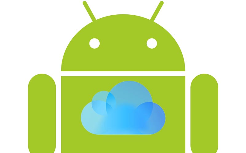 get icloud photos to android