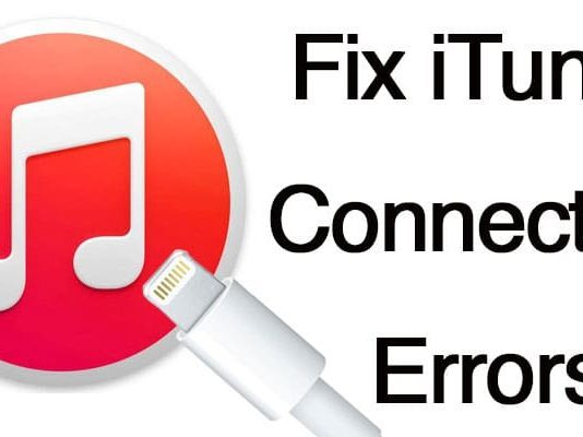itunes connection error