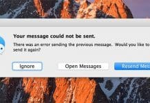 imessage could not be sent