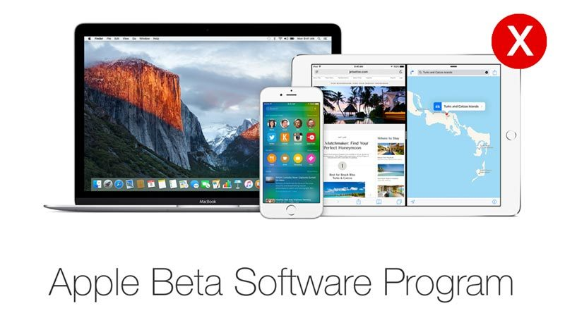 uninstall mac os beta