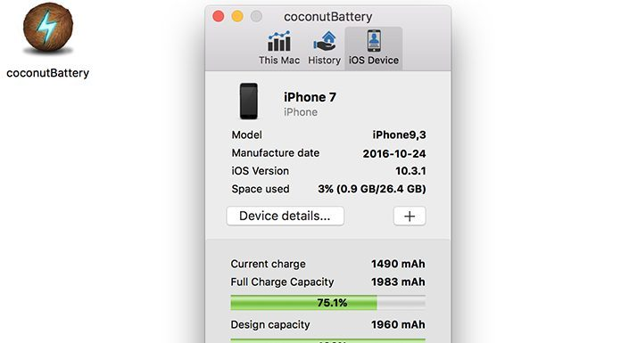 check iphone battery cycle count