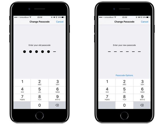change passcode on iphone how to change iphone passcode or password easily 13776