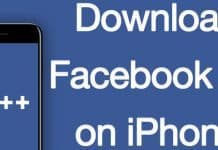 install facebook++ on iphone