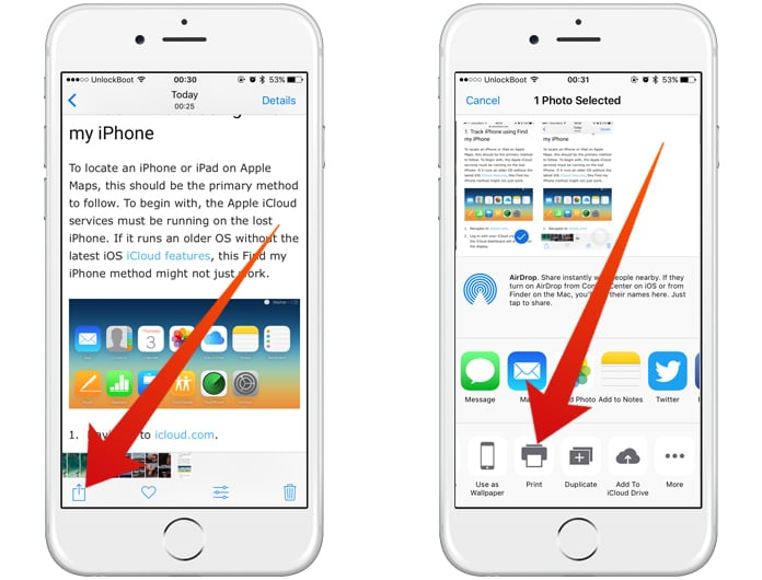convert images to pdf on iphone