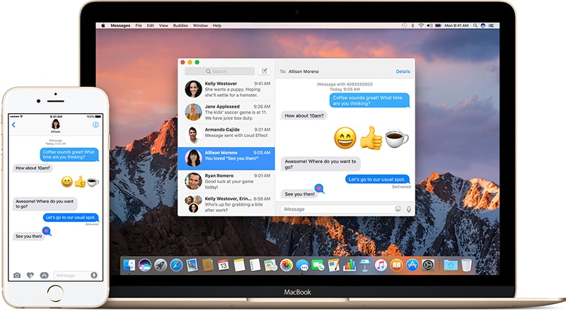 turn off messages on mac