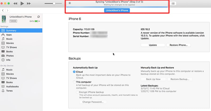 iphone backup could not be completed fix itunes waiting for changes to be applied error when 19344