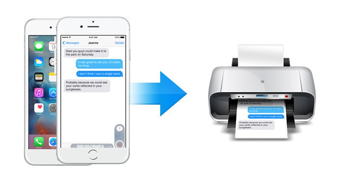 print messages from iphone