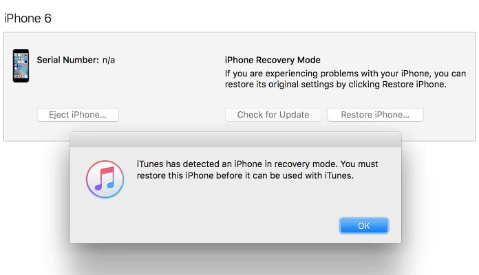 restore iphone without apple id