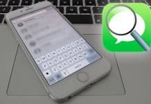 search messages on iphone
