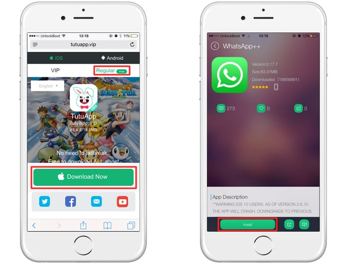 install 2 whatsapp on iphone