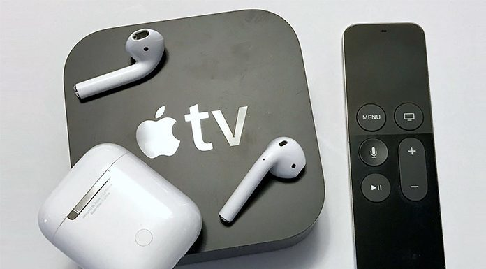connect airpods with apple tv