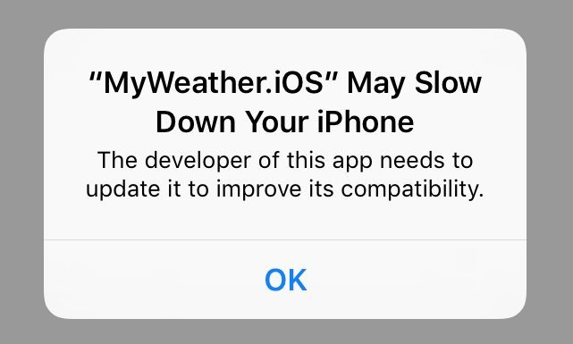 app may slow down your iphone