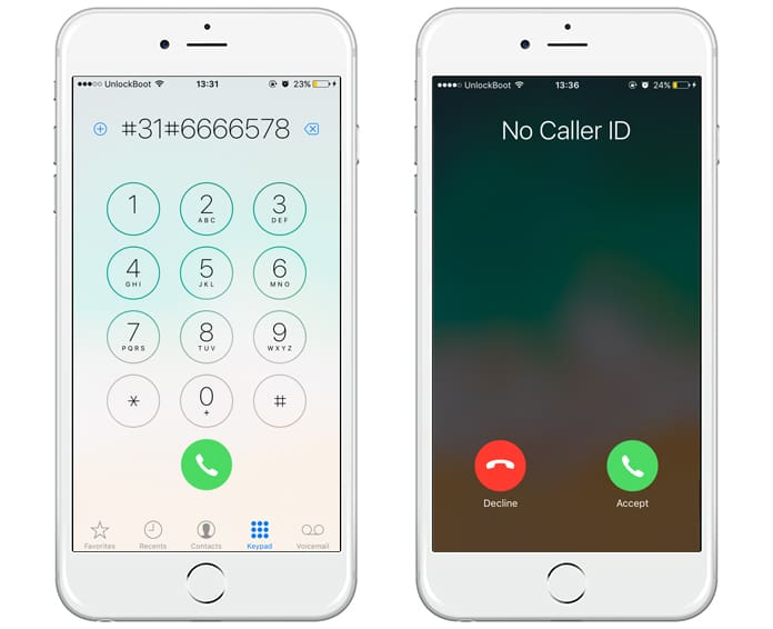 block caller id on iphone