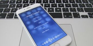turn off voice control on iphone