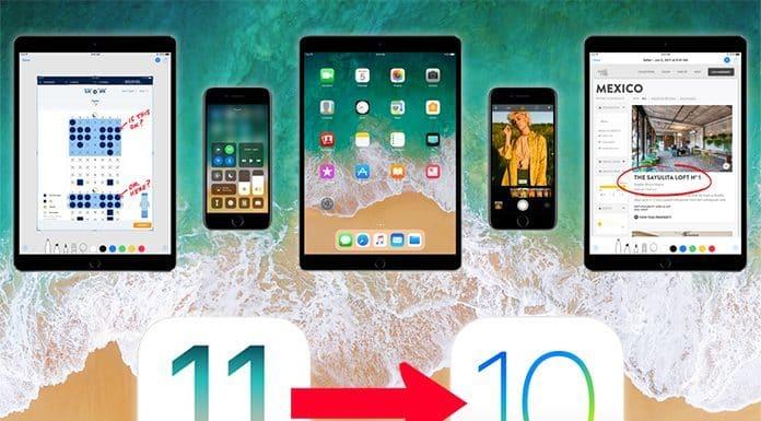 downgrade ios 11 to 10.3.2