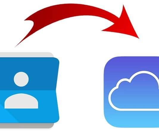 import gmail contacts to icloud