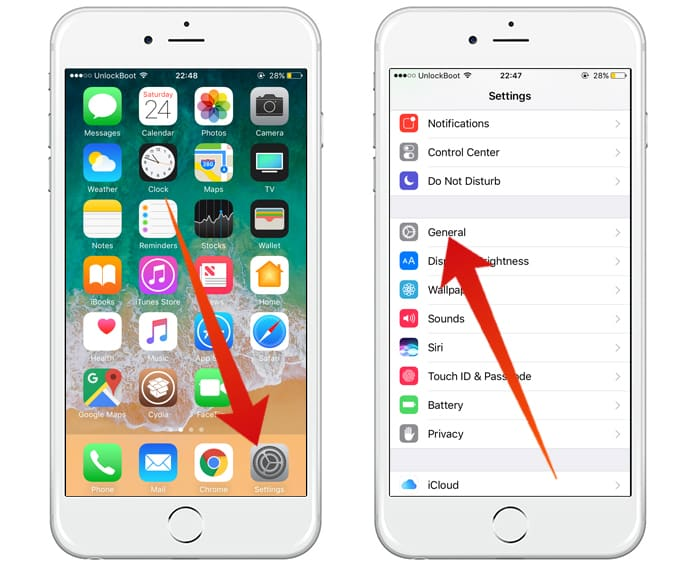 close iphone apps without home button