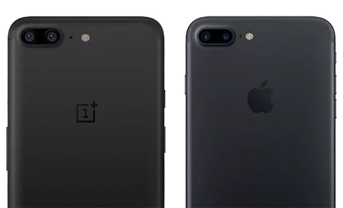 oneplus 5 vs iphone 7