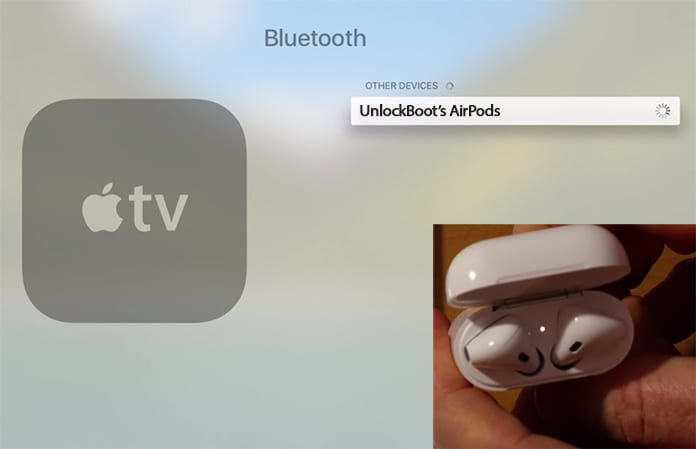 pair airpods with apple tv
