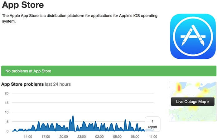 apple app store down