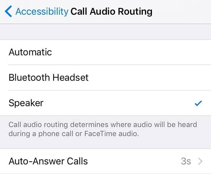 answer calls on iphone automatically