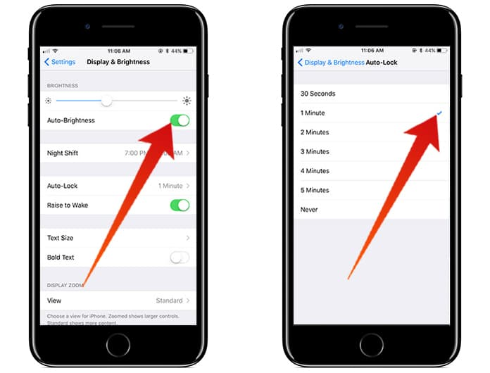 improve battery life on iphone