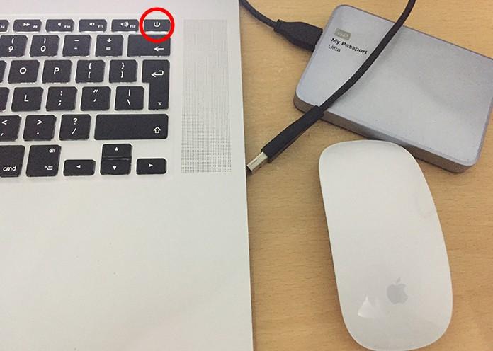external disk not recognized mac