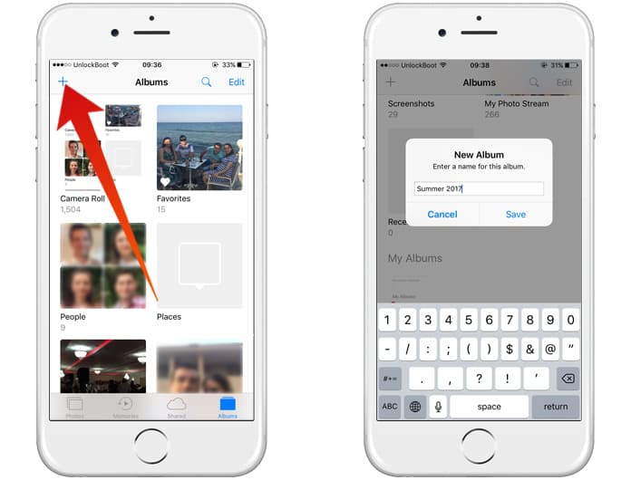 rename photos on iphone