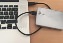 external hard drive not showing up mac