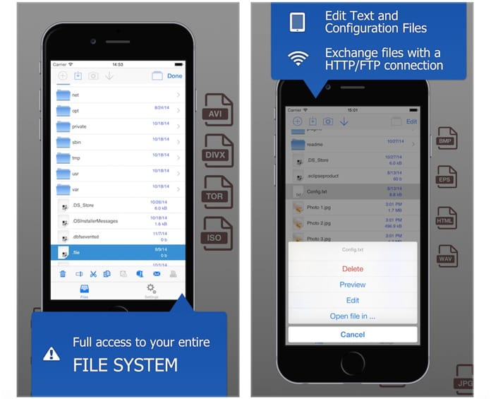 install file browser ios