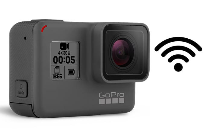 reset gopro wifi password