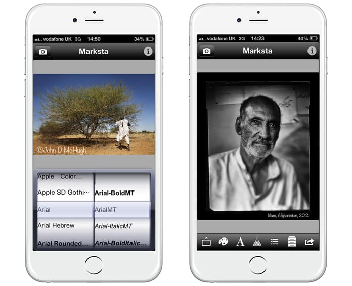 watermark photos app for iphone
