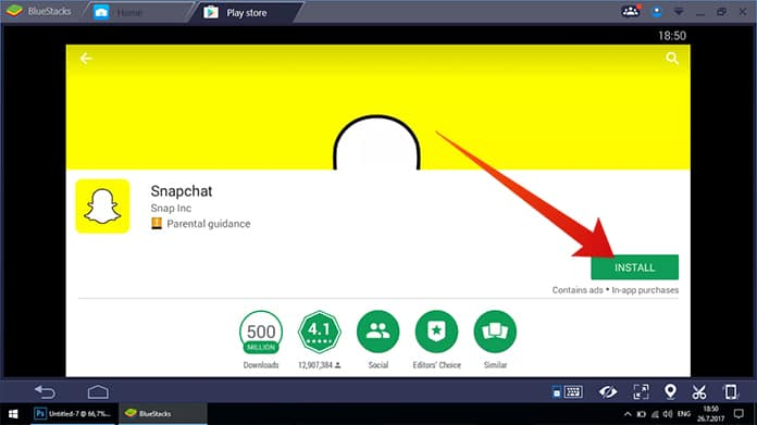 how to use snapchat for pc