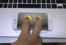 use iPhone as a mouse or trackpad