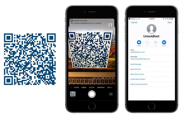 qr code scanner iphone