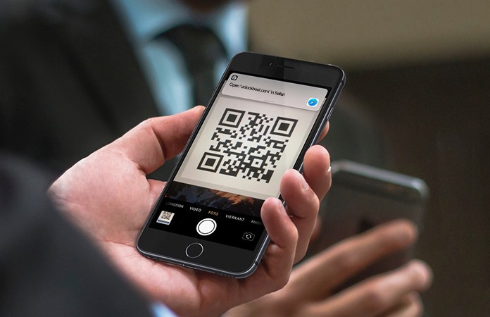 scan qr codes iphone