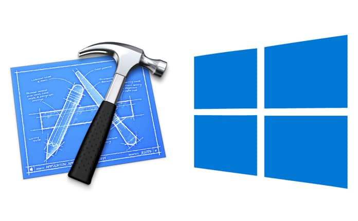 install xcode on windows