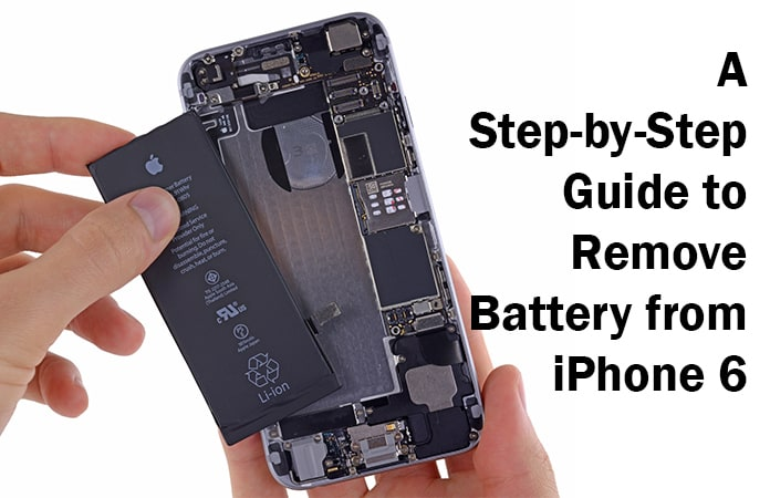 remove battery from iphone 6