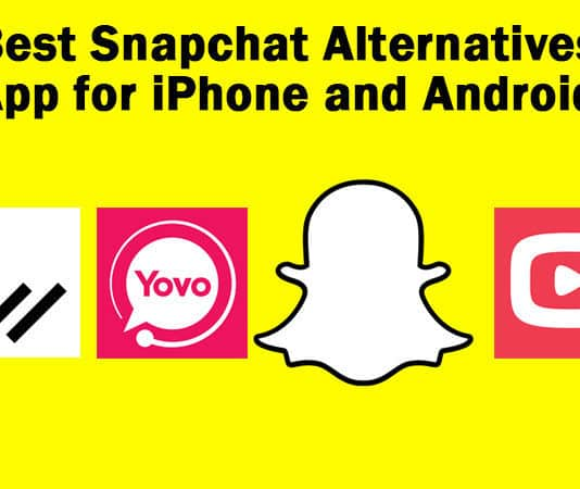 best snapchat alternatives